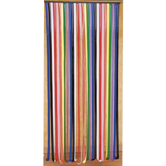 Provence outillage rideau de porte lani res plastique - Rideau de porte exterieur plastique ...
