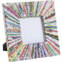 AUBRY GASPARD - Cadre photo carré en papier recyclé