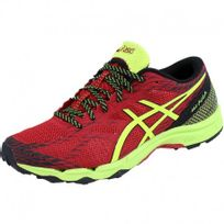 Asics - Chaussures Rouge Gel Fuji Lyte Trail/Running Homme