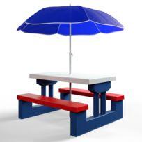 Table jardin avec parasol - Achat Table jardin avec parasol pas cher ...