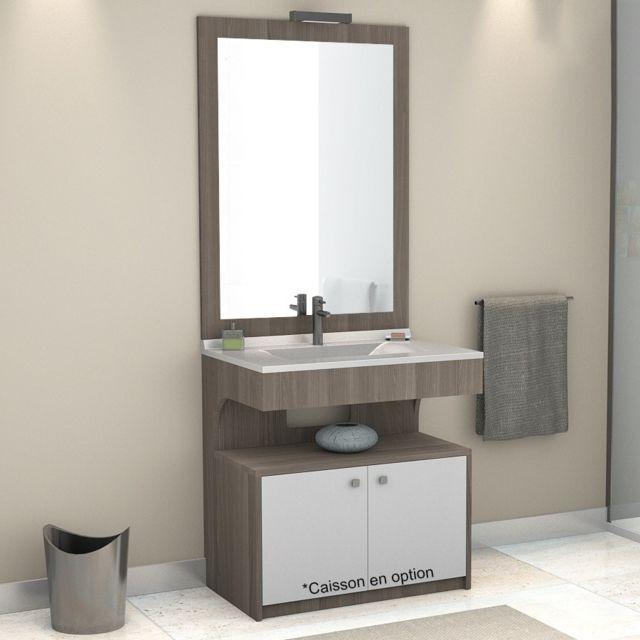 creazur meuble simple vasque pmr altea vienna 90 cm pas cher achat vente meubles de. Black Bedroom Furniture Sets. Home Design Ideas