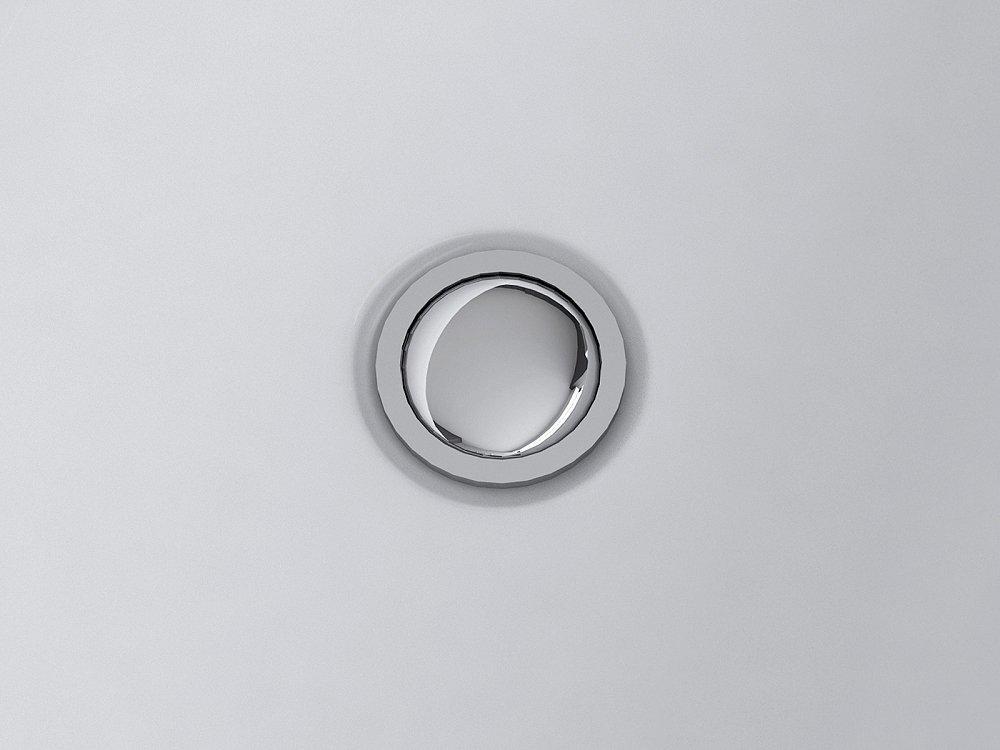 Baignoire îlot ovale - acrylique blanc - Havana Iii