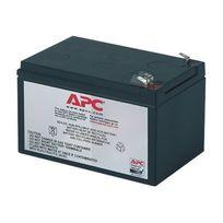 Apc - Replacement Battery Cartridge 4 - Batterie d'onduleur Acide de plomb - noir - pour Back-UPS 650VA; Back-UPS Pro 650, 650VA; Smart-UPS 620, 620VA; Smart-UPS v s 650VA