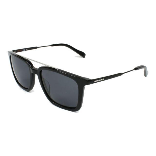 Hugo Boss - Bo-0305-S 807 IR Noir - Argent - Lunettes de soleil - pas cher  Achat   Vente Lunettes Tendance - RueDuCommerce 4d2b2ab4df24