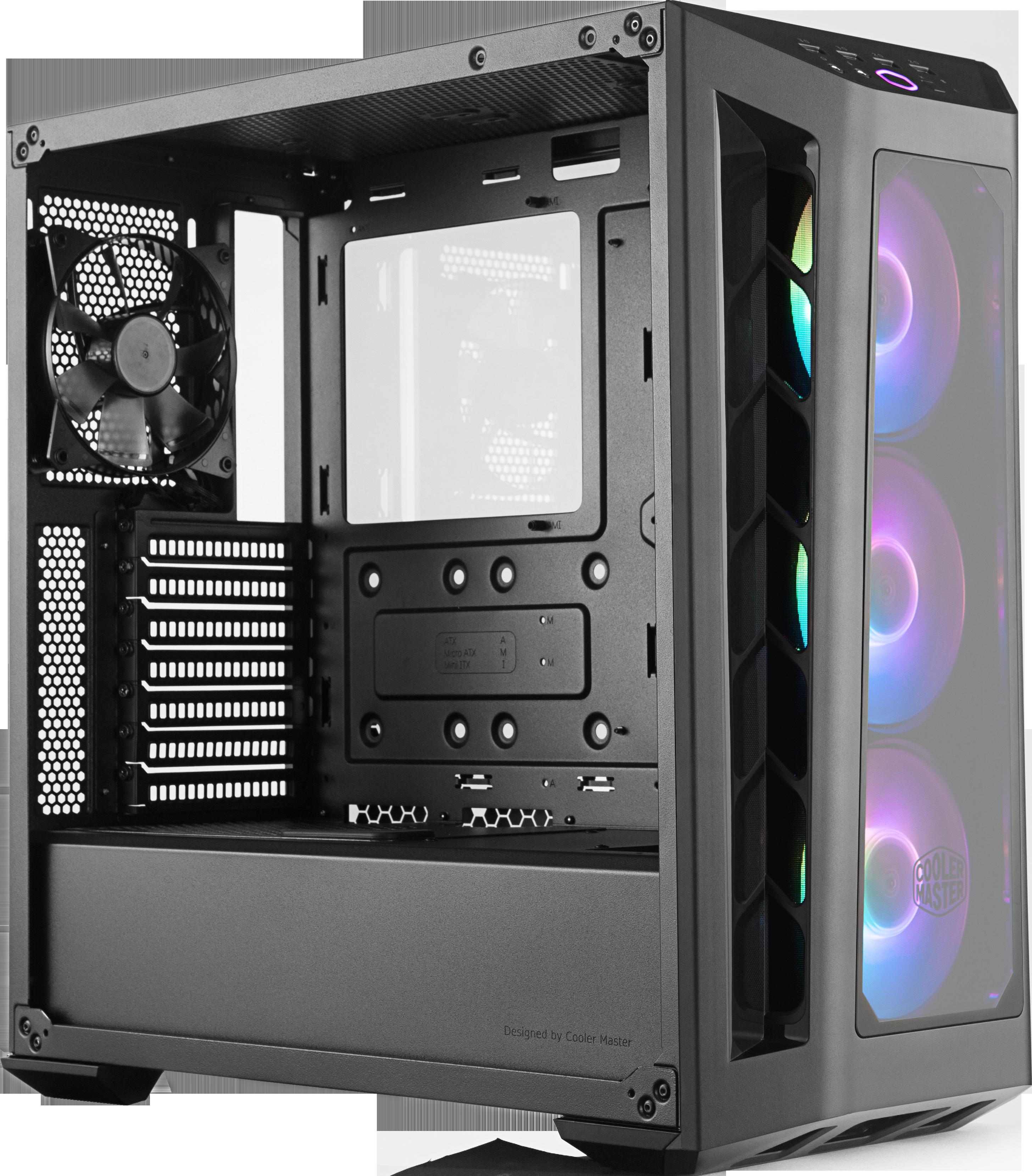 MasterBox MB530P - ATX - RGB - Gris - Avec fenêtre