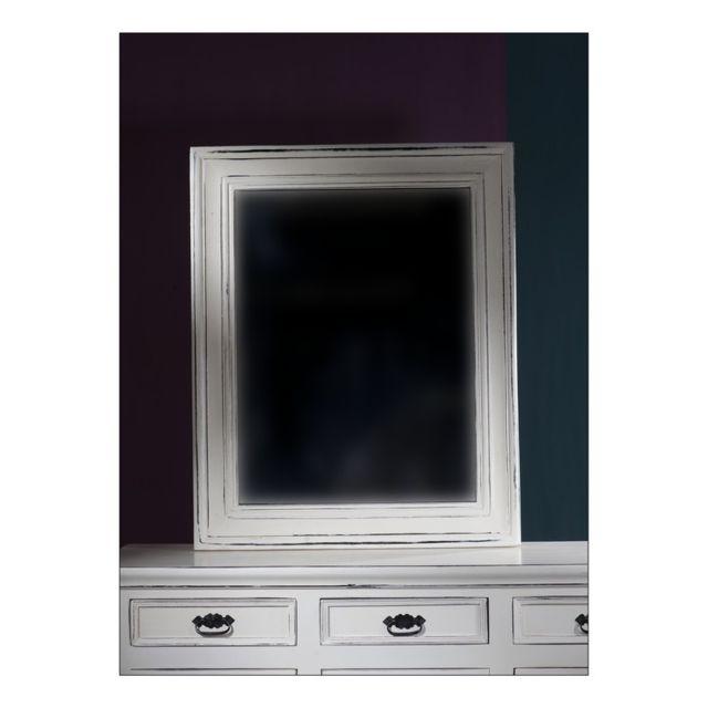 Tousmesmeubles Miroir 80x100 cm - Tolede - L 82 x l 5 x H 102