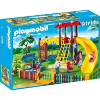 Playmobil - Square pour enfants avec juex
