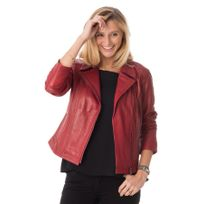 Existenz - Blouson Cindy exe darkred