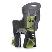 Polisport - Porte-bébés Boodie Rms arrière au porte-bagages gris vert