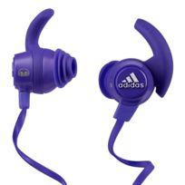 Monster Cable - Monster Adidas Response Violet - Écouteurs intra-auriculaires sportifs avec micro ref : 128650-00