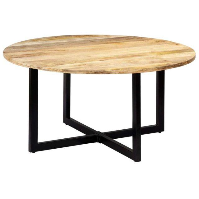Splendide Tables edition Port-au-Prince Table de salle à manger 150x73 cm Bois de manguier solide