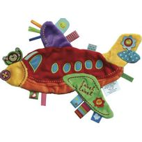 Label Label - Label-Label - Holiday doudou Avion peluche
