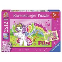 Ravensburger - Puzzle 12 PiÈCES - 2 Puzzles - Filly Butterfly