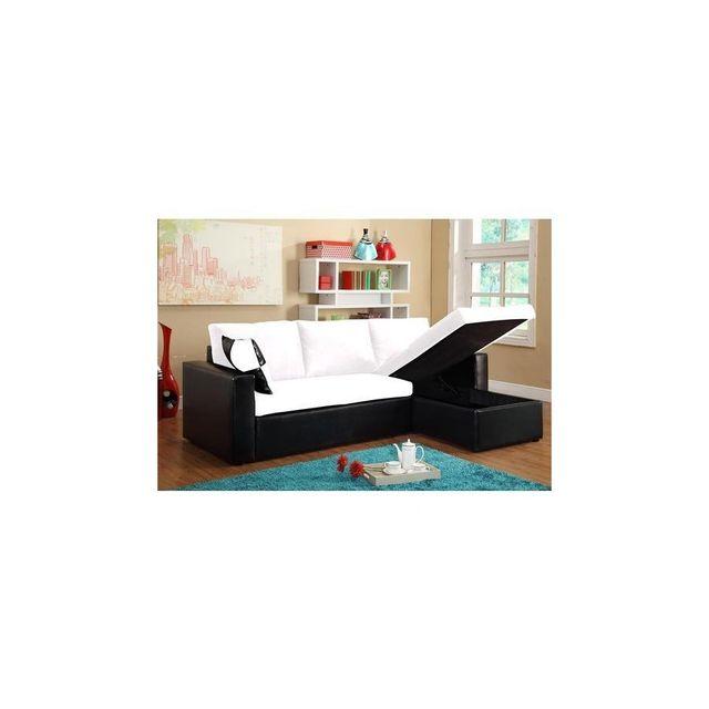 magnifique canape dangle convertible lit microfibre blanc pacific son coffre de rangement Résultat Supérieur 44 Inspirant Canape Meridienne Petite Taille Pic 2017 Shdy7