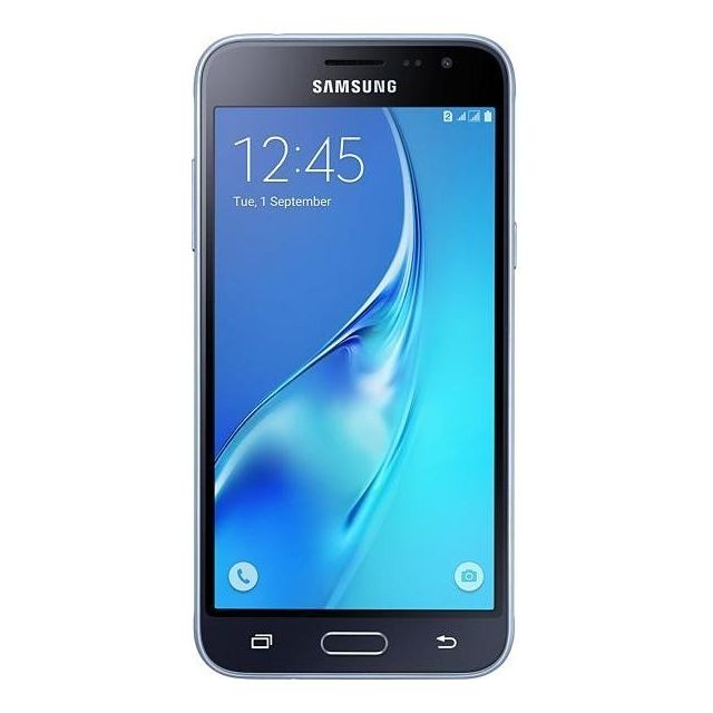 samsung galaxy j3 2016 sm j320f 4g 8go noir pas cher achat vente smartphone android android. Black Bedroom Furniture Sets. Home Design Ideas