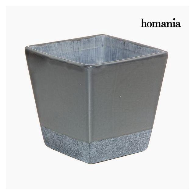 Marque Generique - Cache pot fleur gris en Céramique - Decoration ...