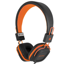 Ngs Technology - Casque stereo orange fluo gumdrop