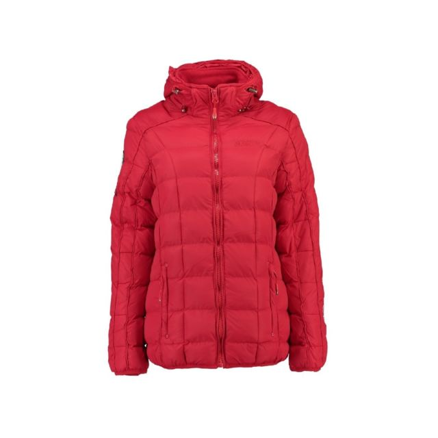 Geographical Norway Doudoune Fille Barbouille Rouge pas