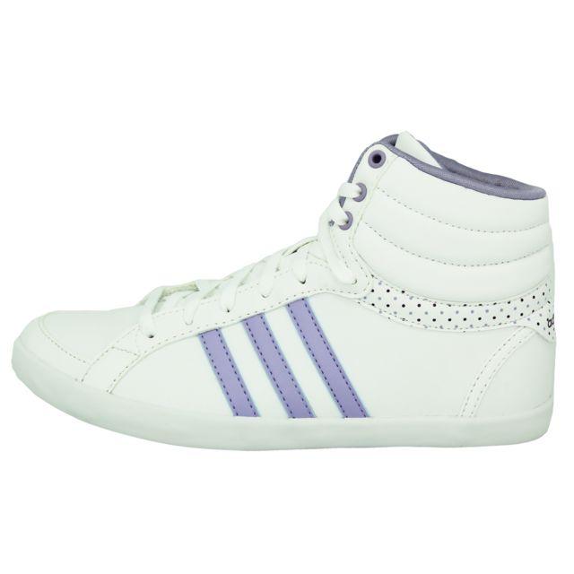 chaussure adidas femme violette