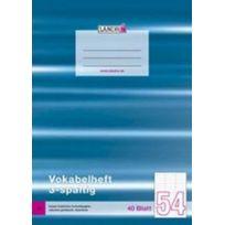 Landr - É Vokabelheft Din A4, 3-SPALTIG, 80 G/QM, 40 Blatt 100050480
