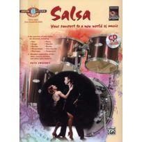 Alfred Publishing - Méthodes Et Pédagogie Sweeney Pete - Drum Atlas Salsa + Cd Batterie