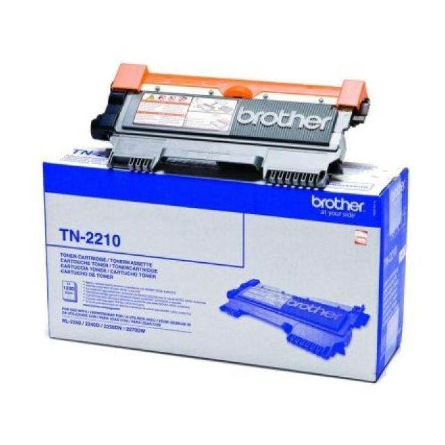 Totalcadeau Toner noir Tn2210 pour imprimante laser Brother Hl-2240/50D/70DW - imprimante encre toner