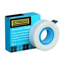 Outifrance - Ruban Adhésif Repositionnable - 33 m x 19 mm