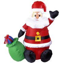 Widmann - Père Noël Lumineux Gonflable