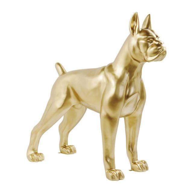 Karedesign Déco chien Toto Xxl doré Kare Design