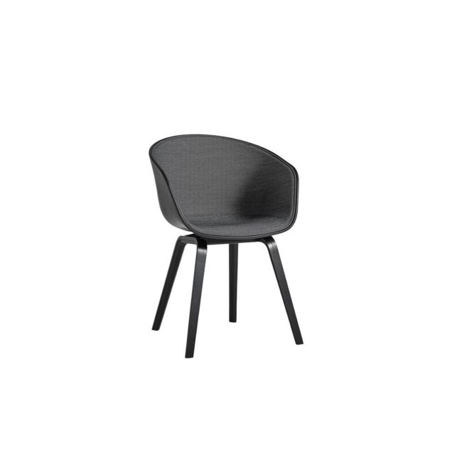 Hay About a Chair Aac 22, rembourrage une face - Surface 190 - coque noir clair