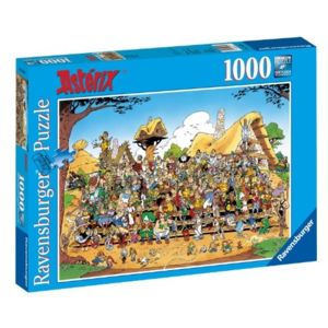 ravensburger puzzle photo de famille asterix 1000. Black Bedroom Furniture Sets. Home Design Ideas