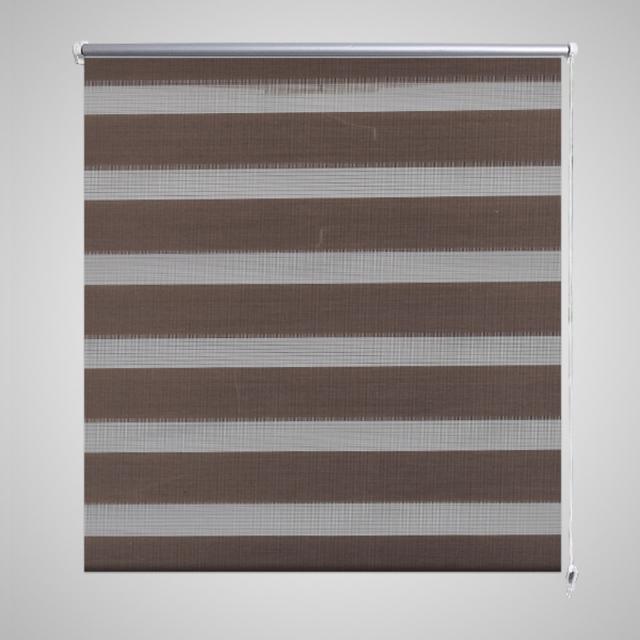 Vidaxl - Store enrouleur tamisant 50 x 100 cm marron