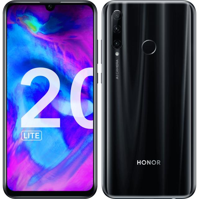 HONOR 20 Lite - 128 Go - Noir
