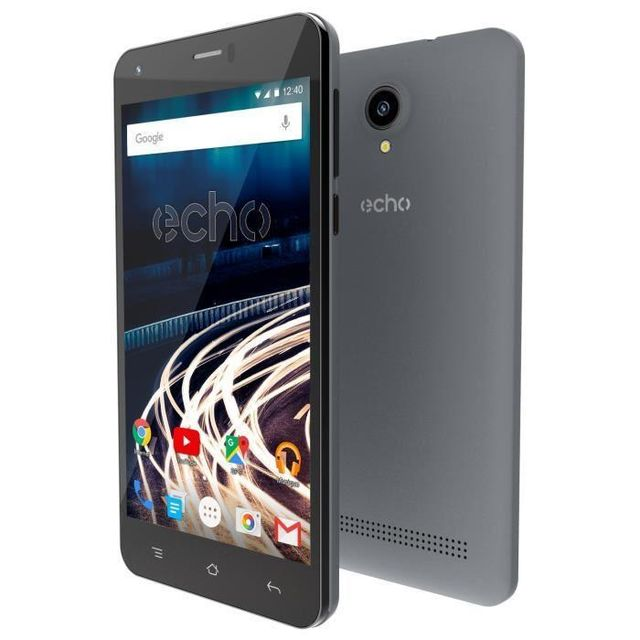 ECHO Smartphone Push - Gris foncé