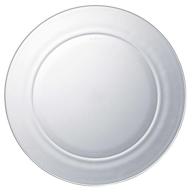 duralex assiette plate lys 28 cm lot de 6 pas cher achat vente assiette rueducommerce. Black Bedroom Furniture Sets. Home Design Ideas