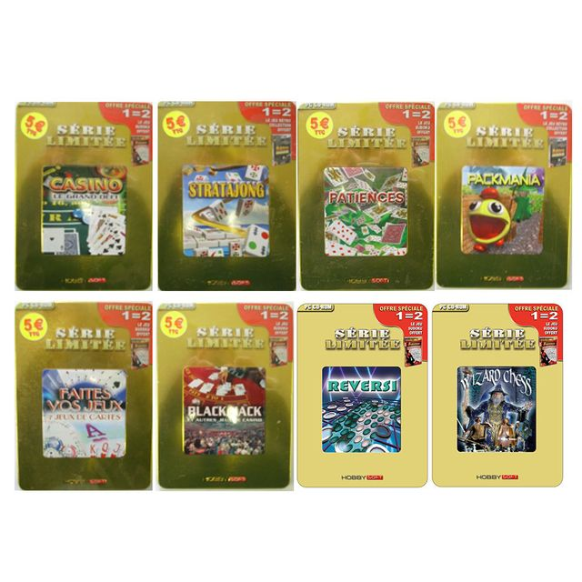 Hobbytech - Pack 10 Jeux Détente Hobbysoft Volume 3 - Pc