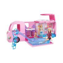Mattel - Barbie Camping Car Transformable