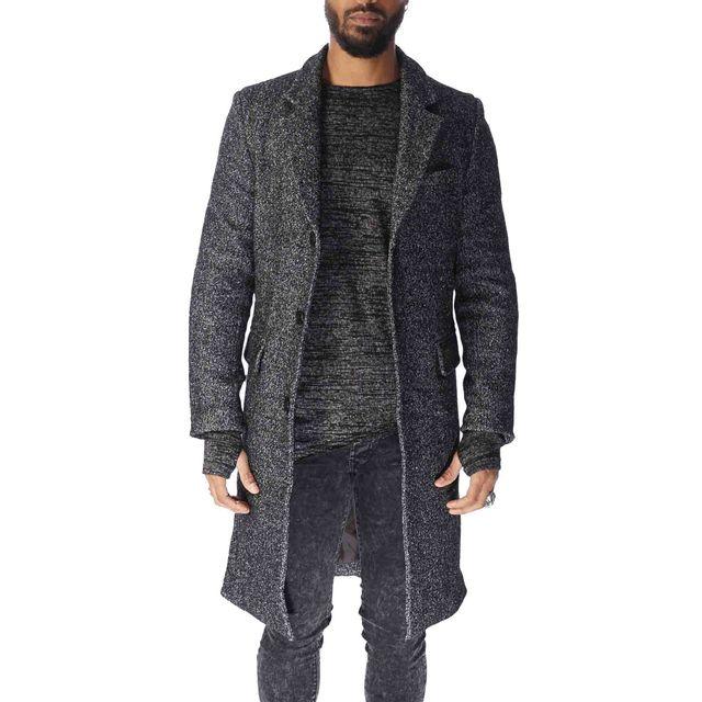 project x manteau noir chin homme paris 88165519 taille xl couleur noir pas cher achat. Black Bedroom Furniture Sets. Home Design Ideas