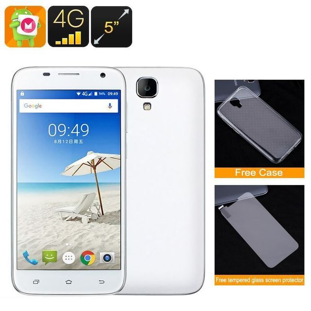 Yonis Smartphone 5 Pouces Hd 4G Android 6.0 Quad Core Dual Sim Gps 1Gb Ram