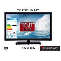 Antarion - Télévision Tv Led 18.5 Hd Led 12V /220V camping car