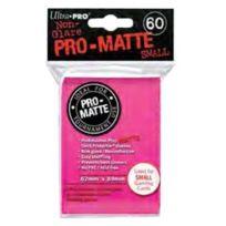 Ultra Pro - 330564 - Jeu De Cartes - Housse De Protection - Pro-matte - Rose Vif - Petit - D10