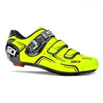 Sidi - Chaussures Level Jaunes Fluo Et Noires Chaussures Vélo