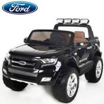 Ford - Nouvelle Ranger écran Lcd 2X12V voiture quad 4x4 électrique enfant noir pack luxe Edition 2017