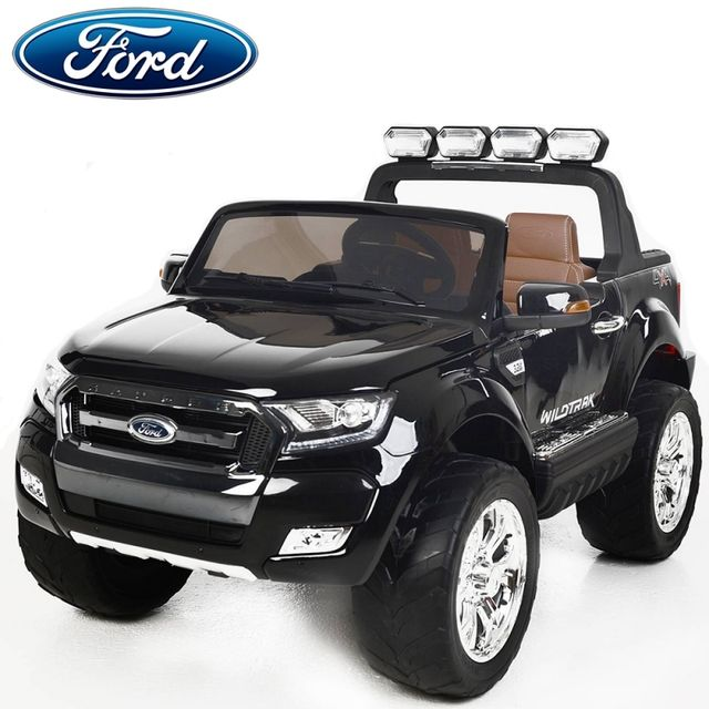 ford 4x4 voiture lectrique enfant ranger cran lcd edition 2018 pack luxe 2 places noir paint. Black Bedroom Furniture Sets. Home Design Ideas