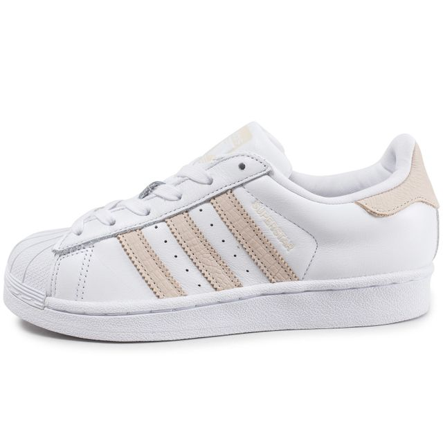 photos officielles bbe28 5d8fc Adidas originals - Superstar W Blanche Et Rose - pas cher ...