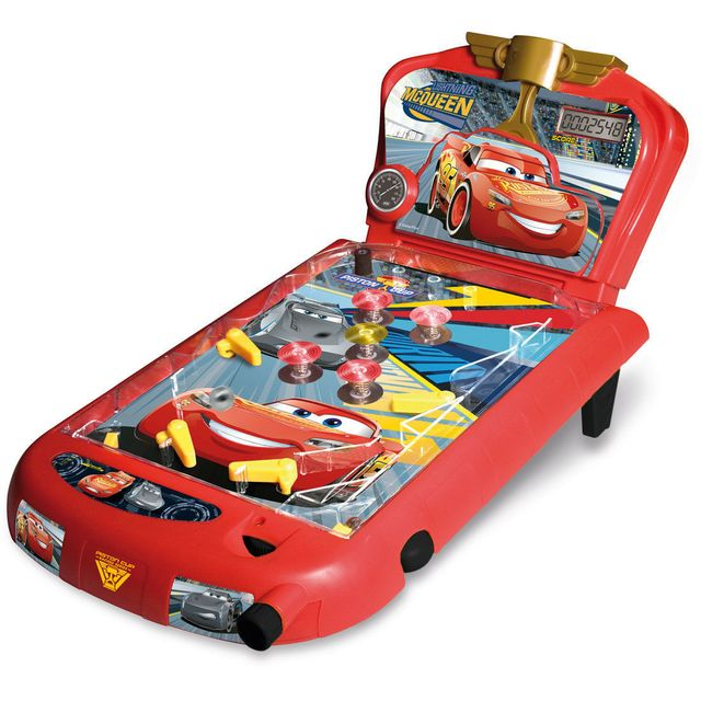 imc toys - cars 3 - flipper interactif - 250116   vente jouet  u00e9lectronique