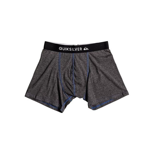 Quiksilver - Boxer Boxer Edition Gris - pas cher Achat   Vente Boxers,  shorties - RueDuCommerce 09fb19dfc12