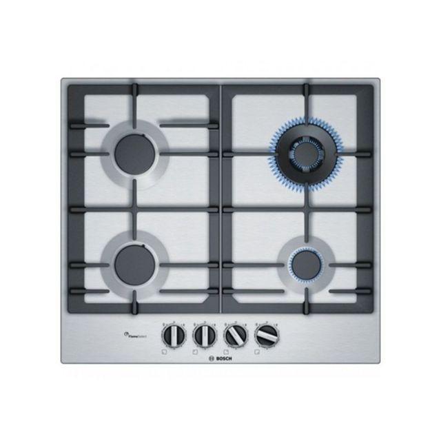 bosch plaque au gaz pch6a5b90 60 cm noir 4 cuisini re achat plaque de cuisson nc. Black Bedroom Furniture Sets. Home Design Ideas