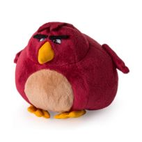 Spin Master - Peluche Angry Bird 12.5 cm : Terence bordeaux