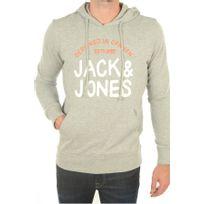 742b7ea0d631 Jack JONES - Sweat Jack And Jones jjormorris sweat zip hood gris XL ...